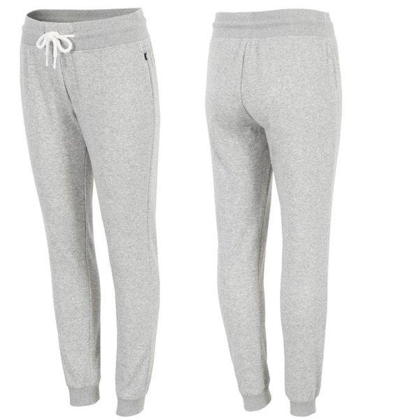 4F - Sweat-Fleece Sporthose - Damen Jogging Hose - grau