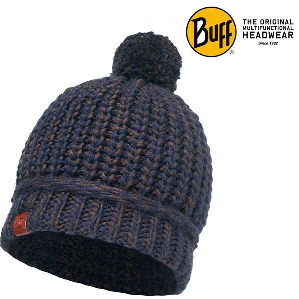BUFF - Original Wollmütze Wintermütze warme Damen Mütze - lilet braun