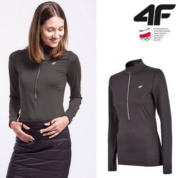 4F - Warm-Technologie- Damen Langarmshirt