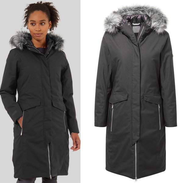 Craghoppers - Suona - Damen Winter Mantel - dunkelgrau