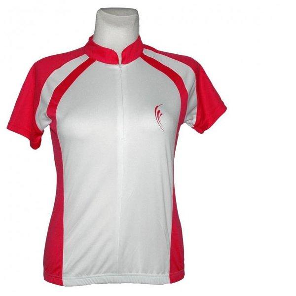 Climacool - Damen Sport- Fahrrad Shirt Double Speed Sportshirt - weiß