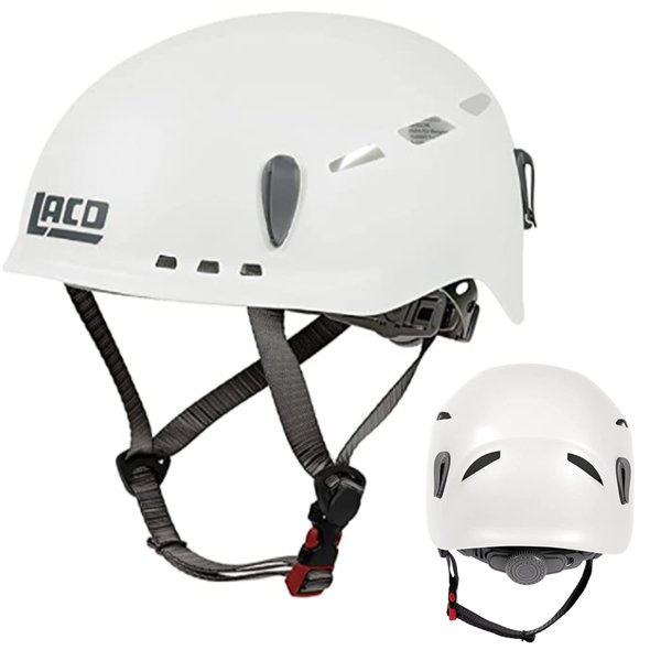 LACD - Protector 2.0 Kletterhelm - ideal für Klettersteige, weiß