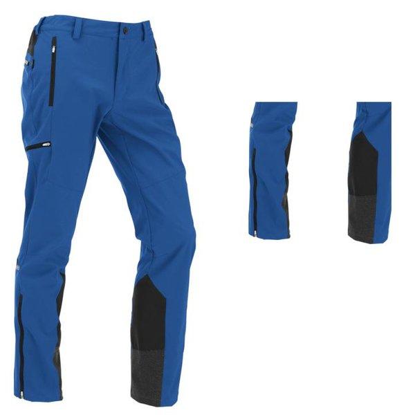 Maul - Auerspitz II - Herren Softshell-Tourenhose - blau