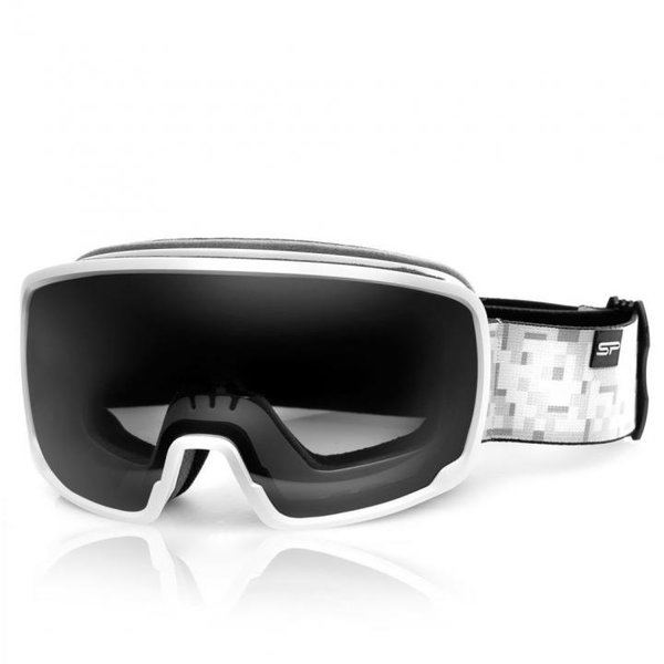 SPOKEY - GRAYS Skibrille Snowboard Brille UV-Schutz Schneebrille - Anti-Fog - weiß