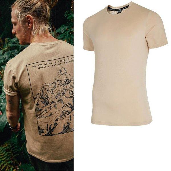 Outhorn - goint to explore - Herren T-Shirt - beige