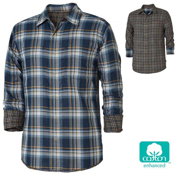 Royal Robbins - Herren Hemd Wendehemd Double Cloth langarm Outdoorhemd
