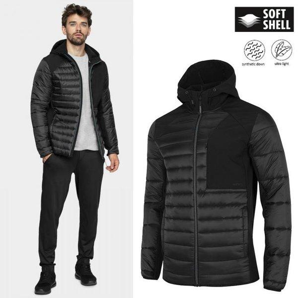 Outhorn - Herren Softshell-Stepp-Jacke - schwarz