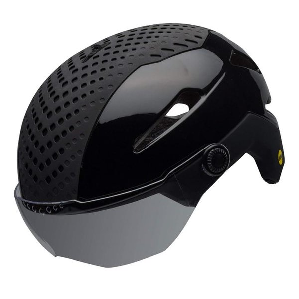 Bell Unisex - Erwachsene Annex Shield MIPS Fahrradhelm, Matte/Gloss Black, M
