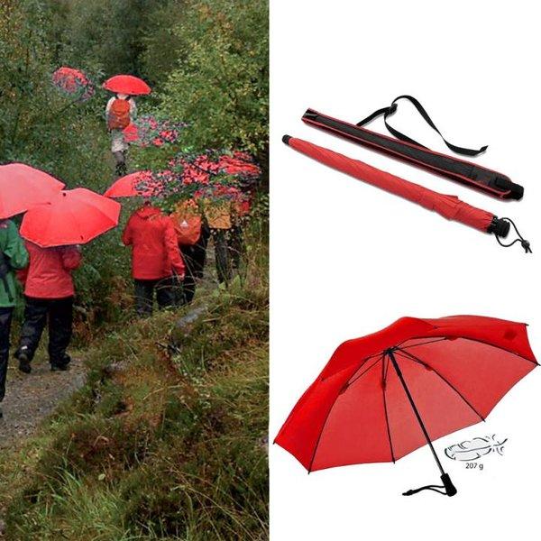 EuroSCHIRM - Göbel - Regenschirm Trekkingschirm - Swing liteflex, rot