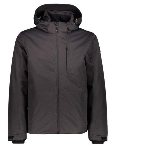 CMP Herren warme Regenjacke Outdoorjacke Wattierte Mid-Jacke, Grau XL 54