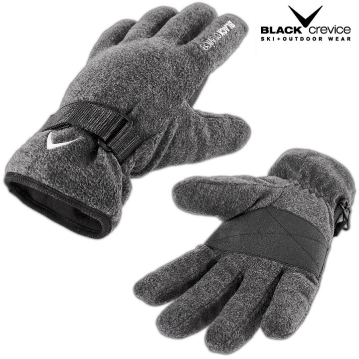 Black Crevice - Fleece Handschue