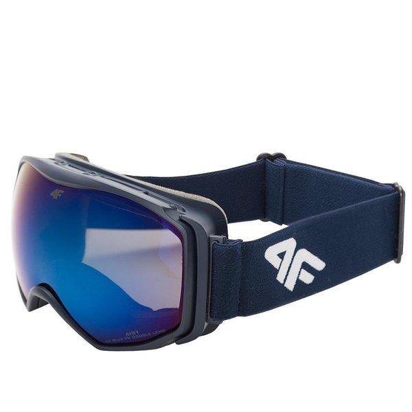 4F - Skibrille Snowboardbrille - BIG 2018 - navy