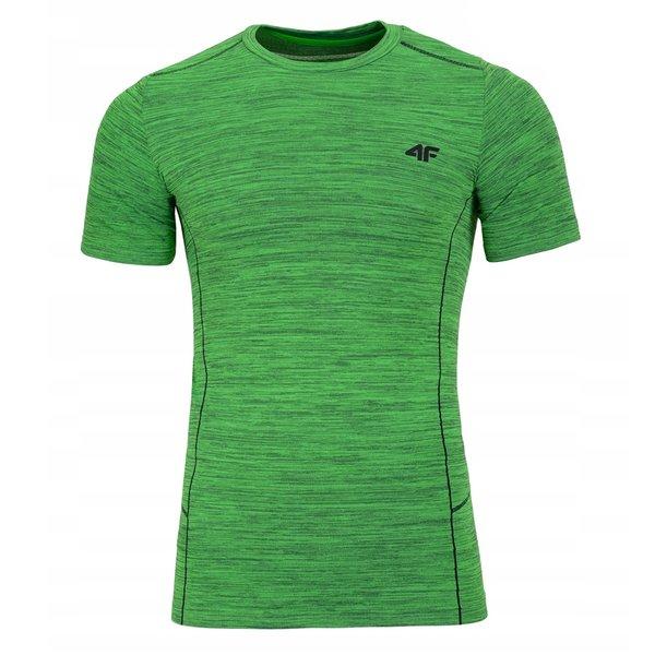 4F - Herren Sport T-Shirt - grün melange