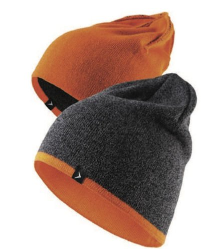 Outhorn - Winter Strickmütze - Wendemütze 2018 - schwarz/orange-rot