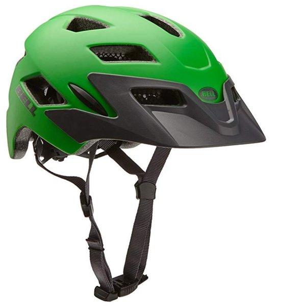BELL - Sidetreck Kinder Helm Fahrradhelm, grün