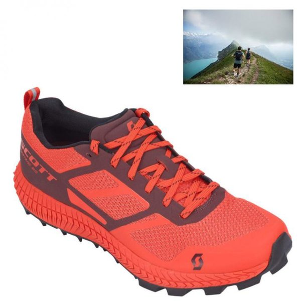 Scott - Supertrac 2.0 Herren Trailrunning Jogging Schuhe, orange