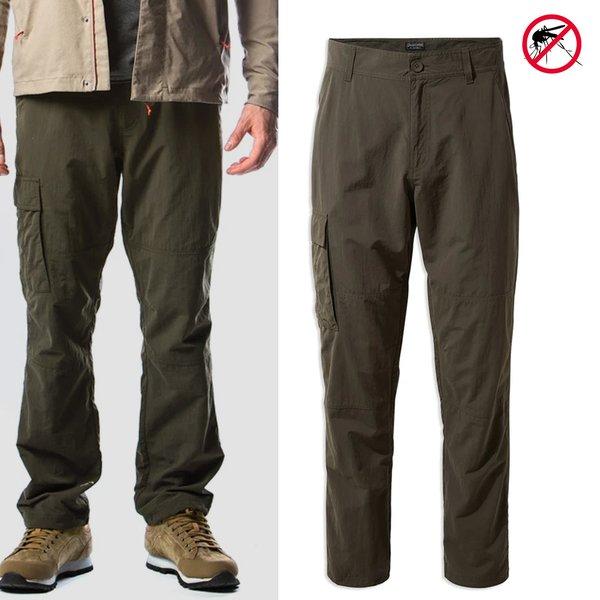 Craghoppers - Nosilife Branco - Herren Trekkinghose - dunkelgrün