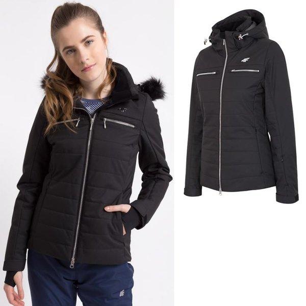 Dermizax TORAY 20.000 - Damen 4F Hightech Winterjacke Luxus - schwarz