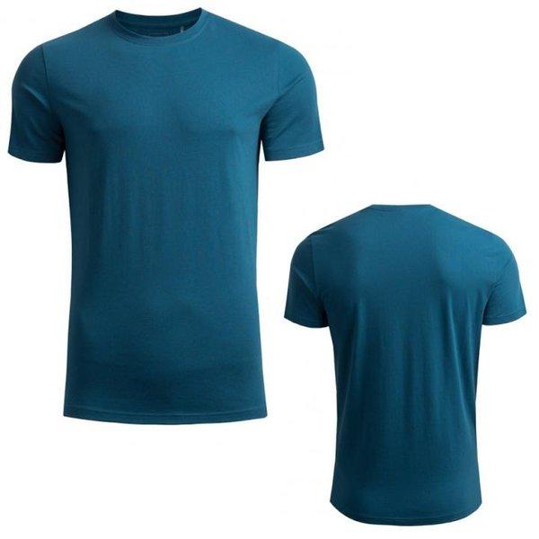 Outhorn - basic active tee - Herren Baumwollshirt - blau