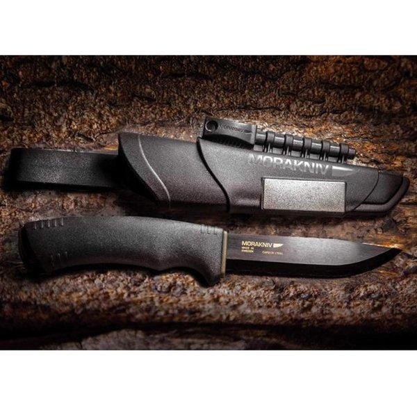 Morakniv Uni Mora-Bushcraft Survival Messer, Schwarz, 9.1 inch