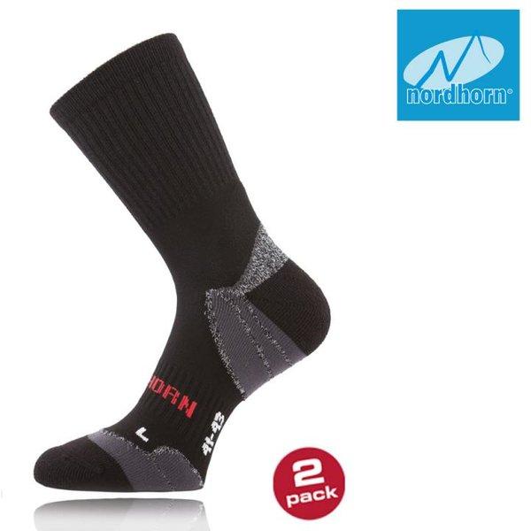 nordhorn - Profi Trekkingsocken Wander Outdoor Socken 2 Paar