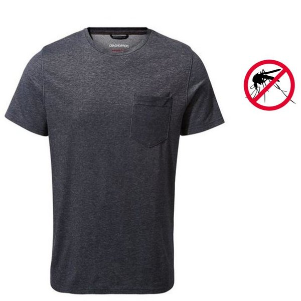 Craghoppers - NosiLife Ina T-Shirt mit Kurzem Ärmel - Herren - navy