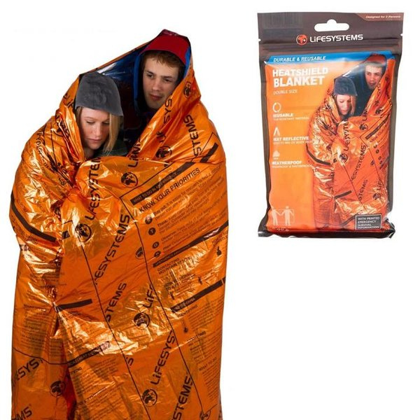 Lifesystems - Heatshield Blanket - Rettungsdecke für 2 Personen