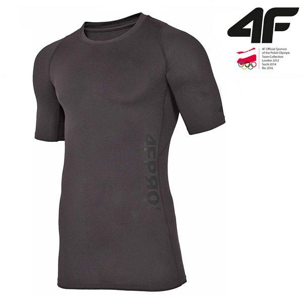 4F - ProTeam - Herren T-Shirt - schwarz S