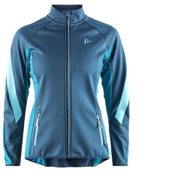 Craft Damen Sharp Softshell JKT W - Fjord zen blau