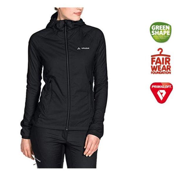VAUDE Damen Women's Bormio Ii Jacket Polartec watiert, schwarz 34 XXS
