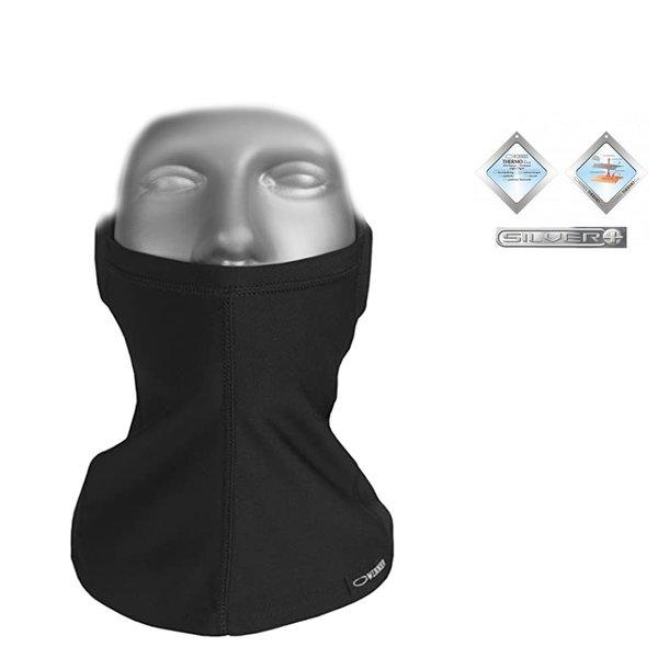 Gwinner - Sturmhaube Kopfhaube Gesichtsmaske - SILVERPLUS, schwarz XXL