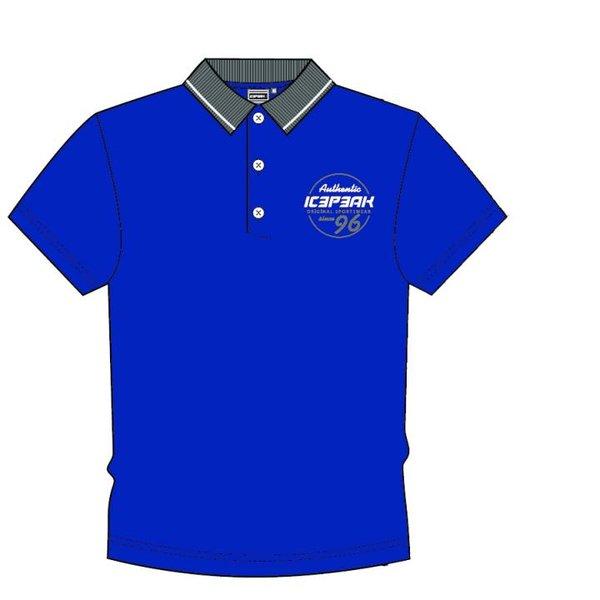 Icepeak - Poloshirt 2019 - Herren Polo-Shirt - blau