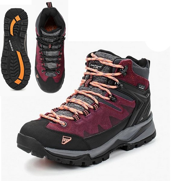 Icepeak - WYNNE MS Damen Outdoor Boots wasserdichte Winterschuhe - burgundy