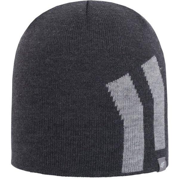 4F - Wollmütze - Winter Mütze STYLE - grau