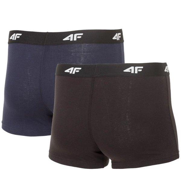 4F - 2x Sport Comfy - Herren Boxershort Set 2019 - navy schwarz