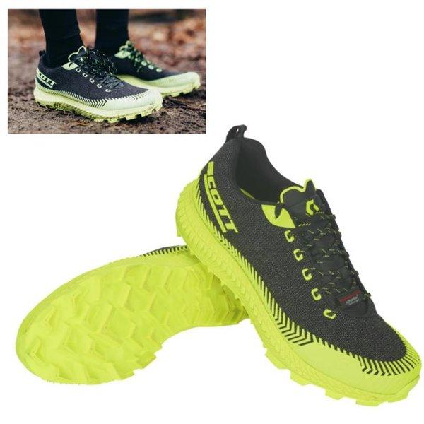 Scott - Supertrac Ultra RC Herren Trailrunning Jogging Schuhe, schwarz gelb