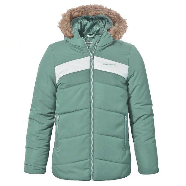 Craghoppers - Dakota - Kinder Winterjacke - blau/grün
