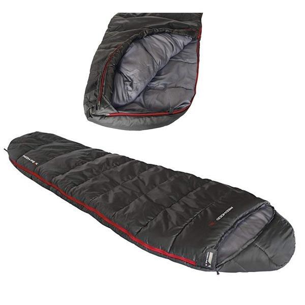 HIGH PEAK - Schlafsack Kompakt REDWOOD -3L 230cm L - grau
