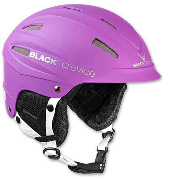 Black Crevice Erwachsene Skihelm ISCHGL Ski Helm, matt violett