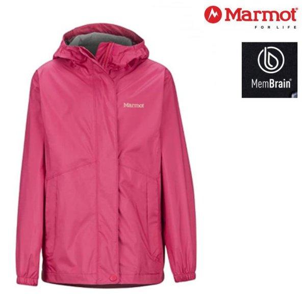 Marmot - Kinder Precip Eco - Outdoorjacke Regenjacke, rosa