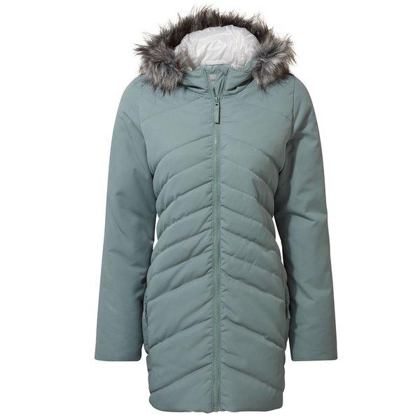 Craghoppers - Clardon Hooded Jacket - Damen Winter Mantel, hellblau