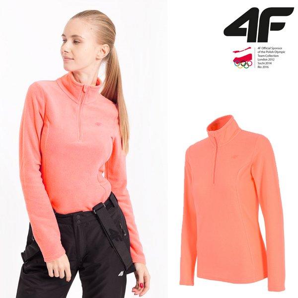 4F - Damen Fleece Langarmshirt