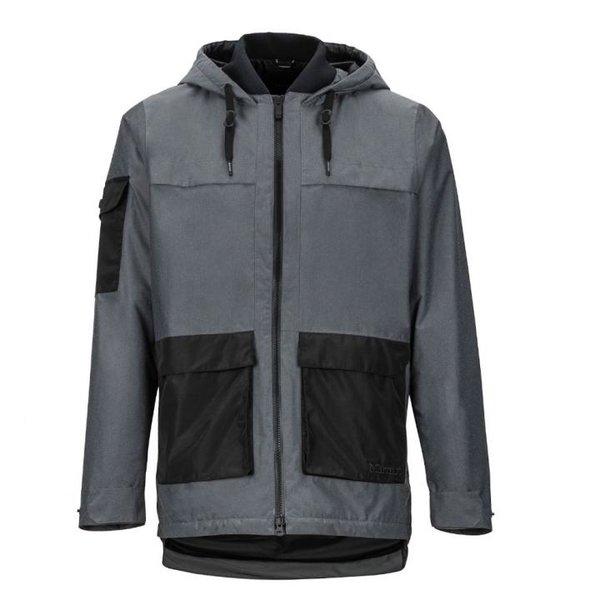 Marmot - Bennu Parka - Herren Winterjacke - grau schwarz