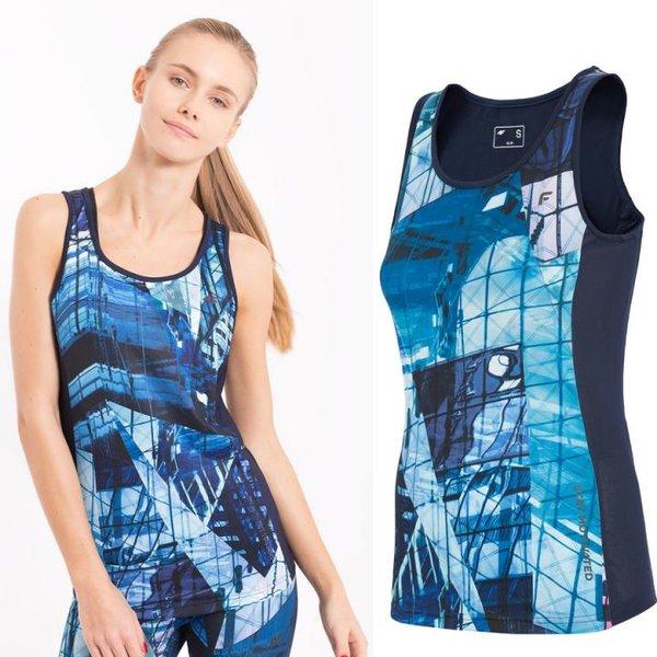 4F - Damen Fitnessshirt ärmellos