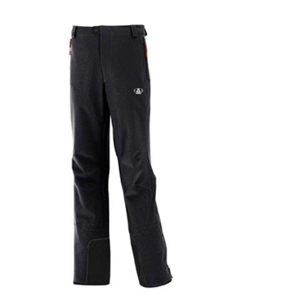 Maul - Kreuzjoch - Herren Skitourenhose - Kurzgrößen schwarz
