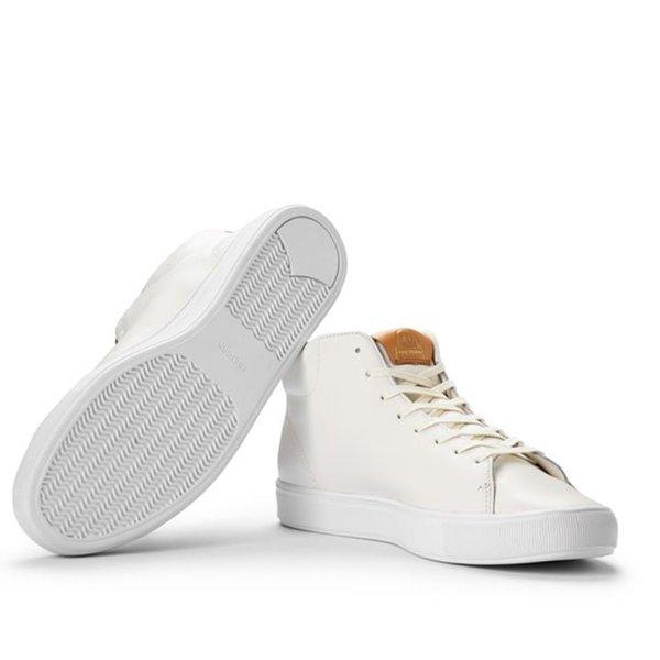 Tretorn - Tournament Leather HI - Herren Sneaker - eierschale