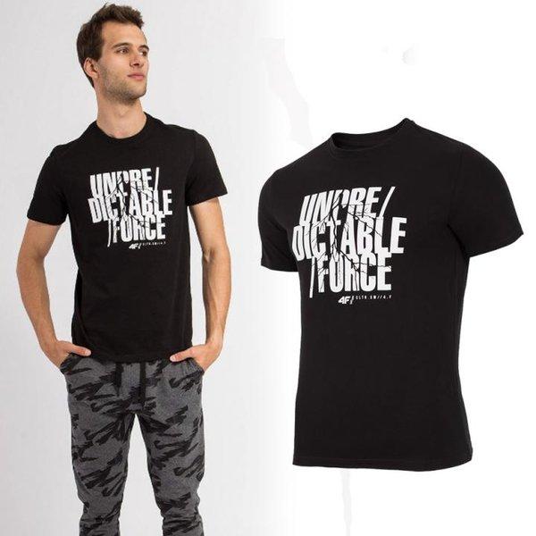 4F- UNPREDICTABLE FORCE - Herren T-Shirt - schwarz