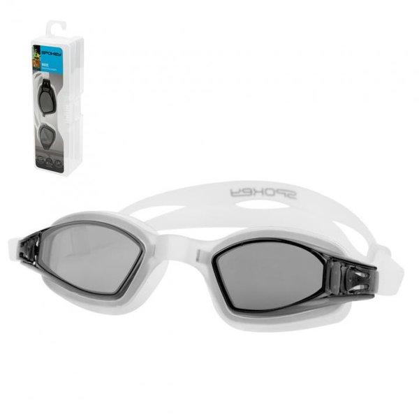 SPOKEY - Taucherbrille Schwimmbrille UV Schutz WAVE - Anti-Fog - schwarz