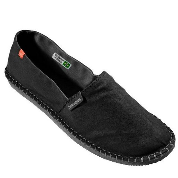 Havaianas - Origine III - Espadrille - Schuhe Stoff - schwarz - EU 36