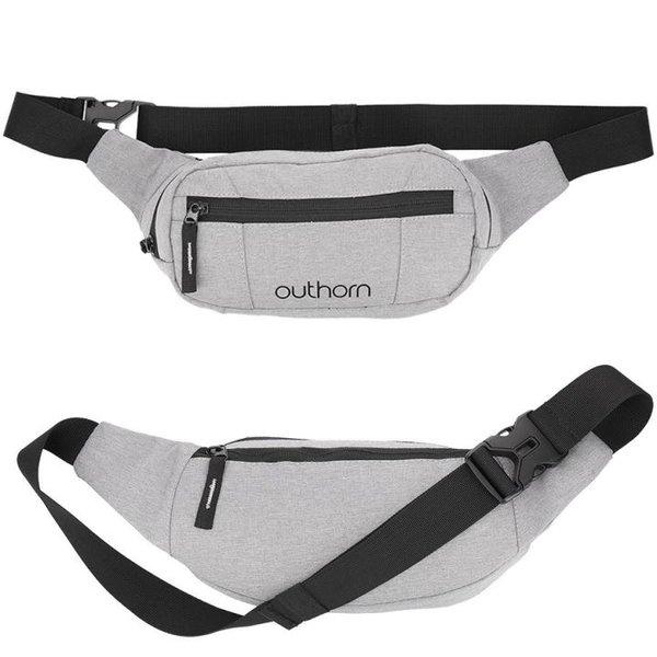 Outhorn - Bauchtasche Joggingtasche - grau